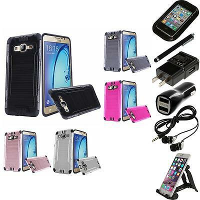 For Samsung Galaxy On5 Brushed Metallic Metal Aluminum Hard Case Accessories