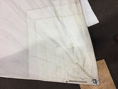 Dacron Headsail in Poor Condition 39ft Luff