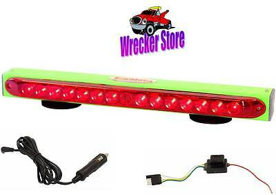 """TowMate 22"""", 4 Pin Flat Transmitter, Limelight WIRELESS TOW LIGHT for Tow Truck"""