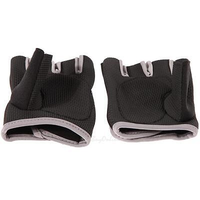 Unisex Half Fingers/Fingerless Gloves For Fitness Gym Weight Lifting Training