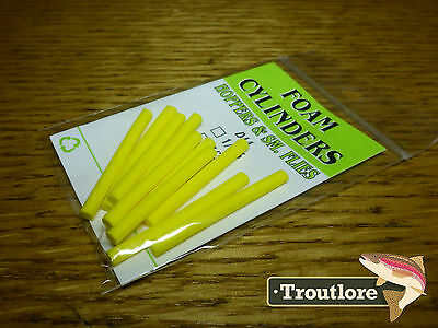 Wapsi Hopper Yellow Foam Cylinders Medium 1/8 Inch - New Fly Tying Materials