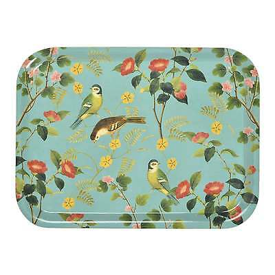 RHS Flora and Fauna Wooden Tea Tray by Burgon & Ball