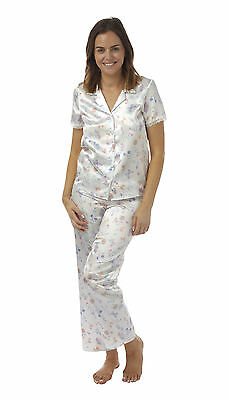 LADIES NIGHTIE EX BHS RRP £10 BUTTERFLY AOP SHORT SLEEVE NIGHTDRESS UK 8-10 NEW