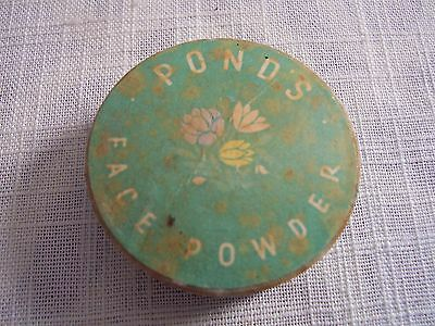 Vintage PONDS Face Powder 1950s Advertising Collectible