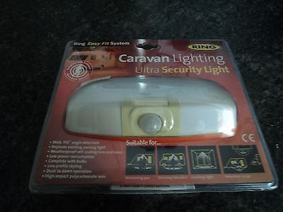 Ring Awning Light PIR Operated Halogen RC7300 Caravan Motorhome