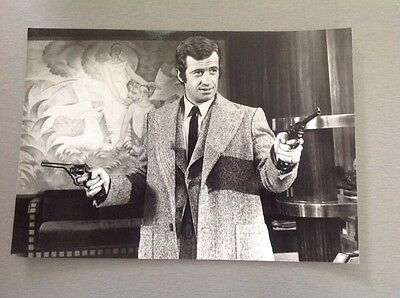 "JEAN PAUL BELMONDO  - "" LA SCOUMOUNE "" - Photo Presse 14x20"