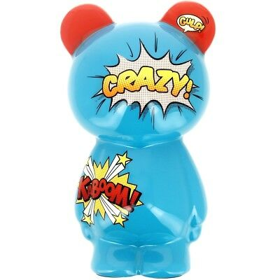 Promobo - Sculpture Crazy Buddy Figurine Crazy Kaboom Bleu Comics 26cm