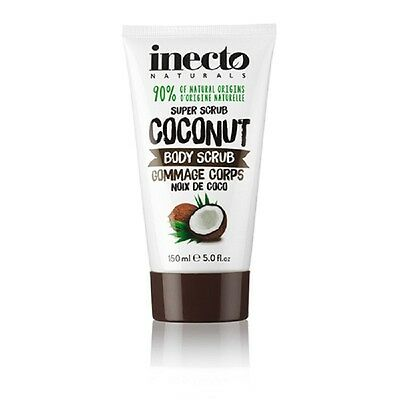 Inecto Naturals Coconut Exfoliating Hydrating BODY SCRUB 150ml