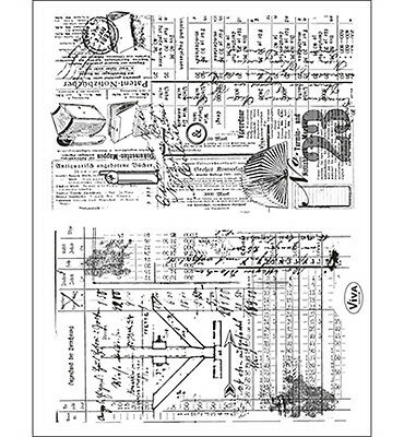 Tampons transparents Viva CROQUIS: collages scrapbooking carterie clear stamps