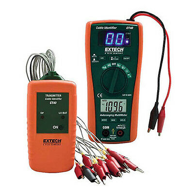 Extech CT40 Cable Identifier, Tester Kit Transmitter