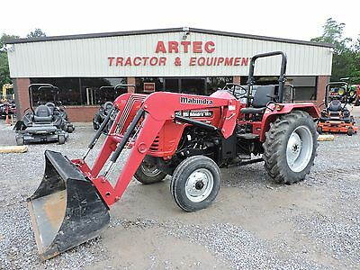 2015 Mahindra 3016 4Wd Tractor With Loader - 28 Horsepower - Good Condition!!