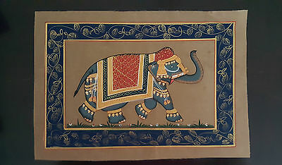 Lovely!!  Small Elephant Tapestry From India