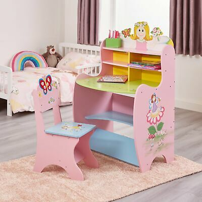 Fairy Leaning Desk with Chair