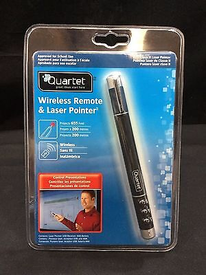 Quartet Wireless Remote & Class II Laser Pointer *NEW