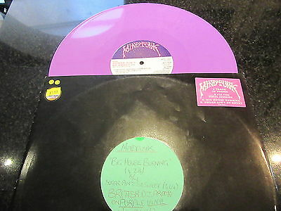 "Mind Funk ""big House Burning"" Rare Purple Vinyl Promo 12"""