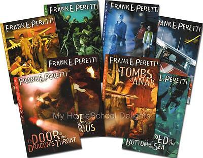 NEW Complete 8 Book SET The Cooper Kids Adventure Series # 1- 8 Frank Peretti