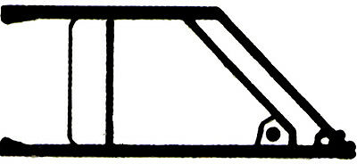 NEW DECAL 1/ 43 -  2 x OUVERTURE GUILLOTINE  - RENAULT 5 MAXI TURBO RALLYE gr B
