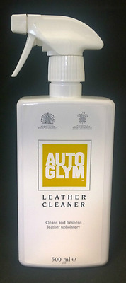 Autoglym Leather Cleaner 500ml Cleans & Freshens Leather Upholstery