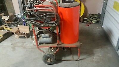 Used Alkota 4312 Hot Water 1PH / Diesel 4GPM @ 3000PSI Pressure Washer