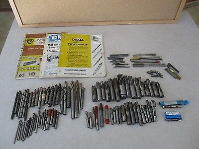 18 lb lot Milling Machinist Aircraft Drill Bits Reamer HSS Carbide