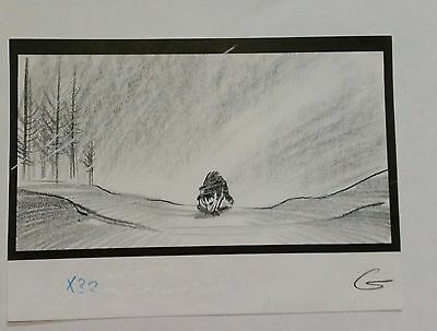 Balto Animated Film - Storyboard - Steele -USSBA.009.246