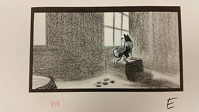 Balto Animated Film - Storyboard - Jenna Hosp. Window -USSBA.009.360