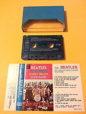 Musicassetta - THE BEATLES - Sgt. Peppers lonely... - ITA anni '70 - NO BARCODE