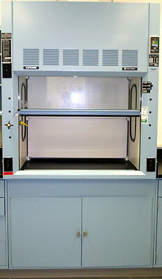 Fisher Hamilton Safeaire Fume Hood, 4 Foot, Model Hm54L591Pob (Blue Mist)