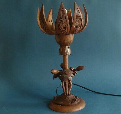art deco table lamp black forest