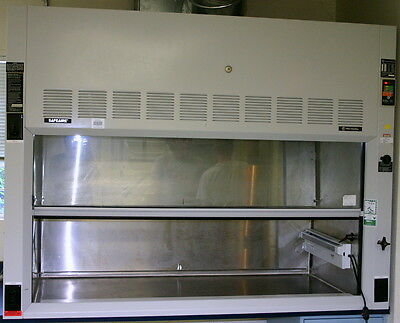 Fisher Hamilton Safeaire S/s Fume Hood, 6 Foot, Model Hm54L (Creme)