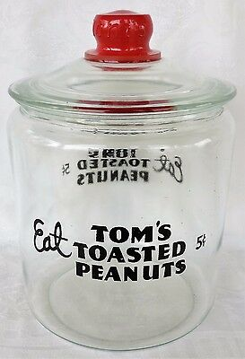 Tom's Toasted Peanuts  Country Store Jar