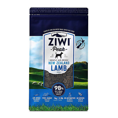 ZiwiPeak New Zealand Air Dried (Raw Shelf Stable) Dog Food 2.2 lb LAMB