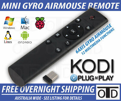 Raspberry Pi 3 KODI OpenELEC Air Fly Mouse Remote | OSMC Android Windows 2.4GHz