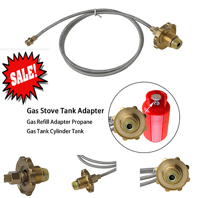 Gas Stove Tank Adapter GTs Refill Adapter Propane GTs Tank Cylinder GT