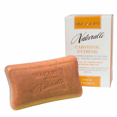 CLEARANCE SALE !!! Makari Carotonic Exfoliating Lightening Soap with carrot oil