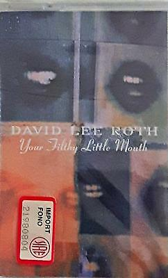David Lee Roth ‎– Your Filthy Little Mouth  MC CASSETTE SEALED