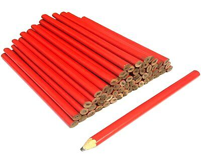 (PACK OF 60) Carpenters Pencils Builders Joiners Wood Working Marker Pencil