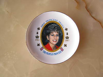 Princess Diana  plate 136mm - the peoples princess 1961 - 1997