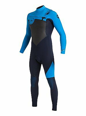 Quiksilver Syncro 3/2Mm Wetsuit Chest Zip Gbs Mens 2017