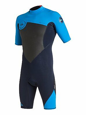 Quiksilver Syncro 2Mm Shorty Wetsuit 2017 Blue