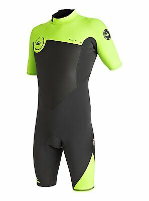 Quiksilver Syncro 2Mm Shorty Wetsuit 2017 Lime