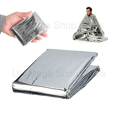 Foil Space Emergency Blanket Survival Blanket Thermal Rescue First Aid