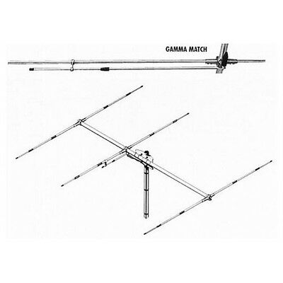 Sirio Sy27-3 3 Element Yagi Dx Beam Antenna With Gamma Match