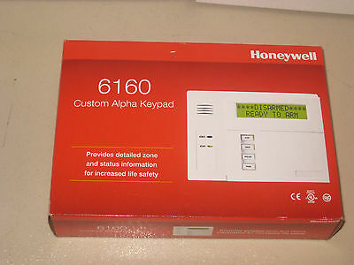 "Honeywell / Ademco 6160 Alpha Alarm Keypad ""NEW"""