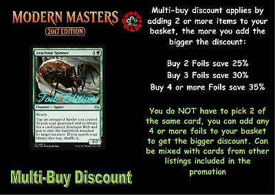MTG Modern Masters 2017 MM3 Choose your Uncommon FOIL - Buy 2 or more save 25%
