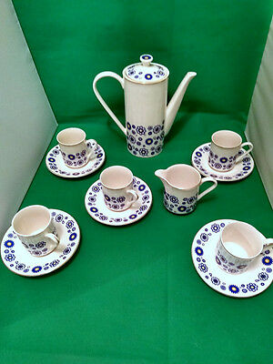Lord Nelson Pottery Serenade Coffee Set
