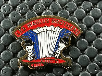 pins pin BADGE MUSIQUE MUSIC ACCORDEON LES MAULUS BROTHERS
