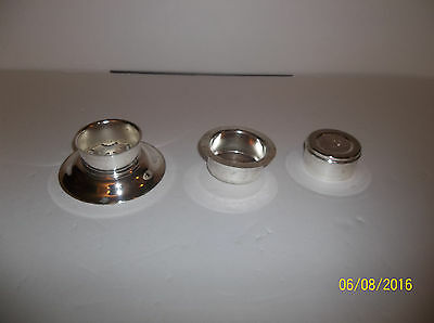 Vintage Silver Plated 3 Piece Butter Curler Cutter Press William Adams Italy