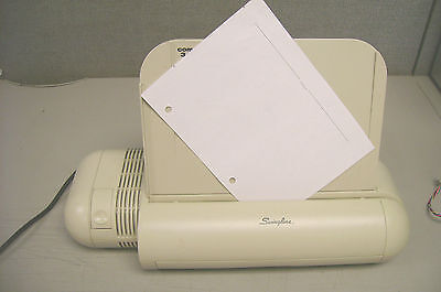 Swingline Model 525 Electric Punch - WITH Paper Holder