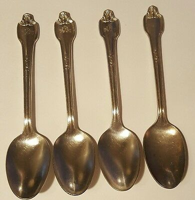 Lot 4 Vintage Fontainebleau Hotel Spoon International Silver Co. XII FREE SHIP